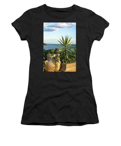 Succulents By The Sea Women's T-Shirt