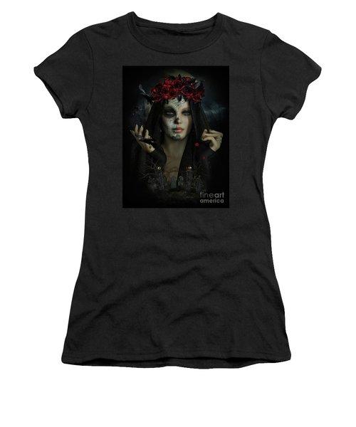 Sugar Doll Magic Women's T-Shirt (Junior Cut) by Shanina Conway
