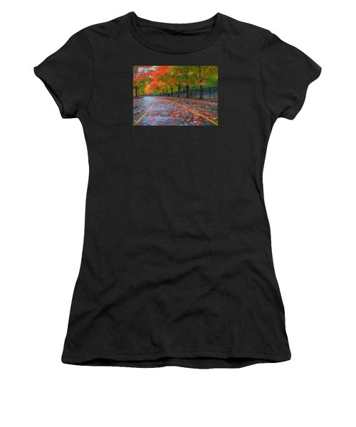 Sugar Maple Drive Women's T-Shirt (Athletic Fit)