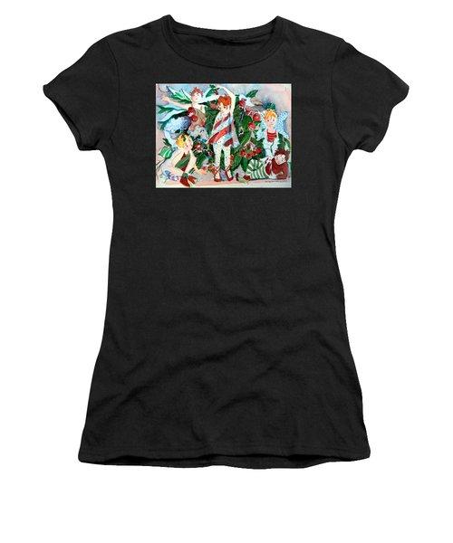 Sugar Plum Fairies Women's T-Shirt (Athletic Fit)