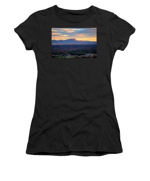 Sugarloaf View, South Deerfield, Ma Women's T-Shirt