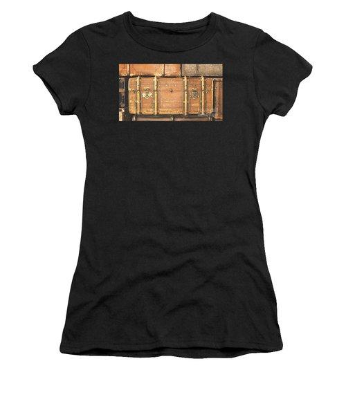 Suitcases  Women's T-Shirt (Athletic Fit)