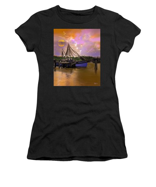 Sultry Bayou Women's T-Shirt (Athletic Fit)