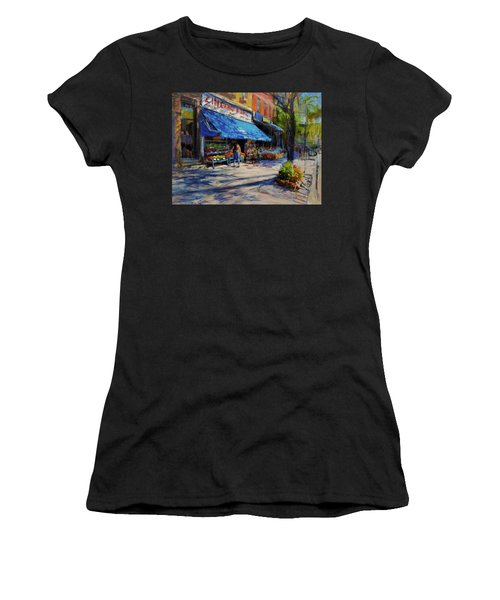 Summer Afternoon, Columbus Avenue Women's T-Shirt (Athletic Fit)