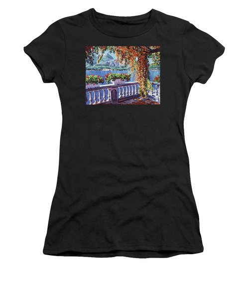 Summer At Lake Como Women's T-Shirt