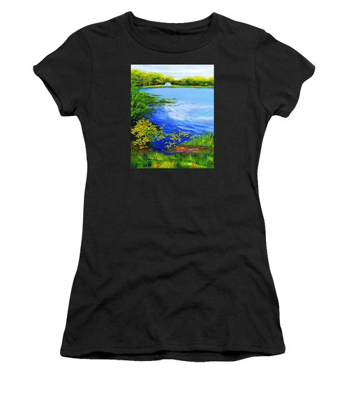 Summer At The Lake Women's T-Shirt (Athletic Fit)