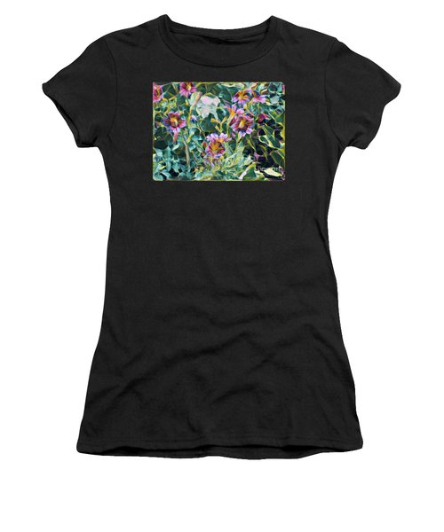 Summer Blossoms Women's T-Shirt (Athletic Fit)