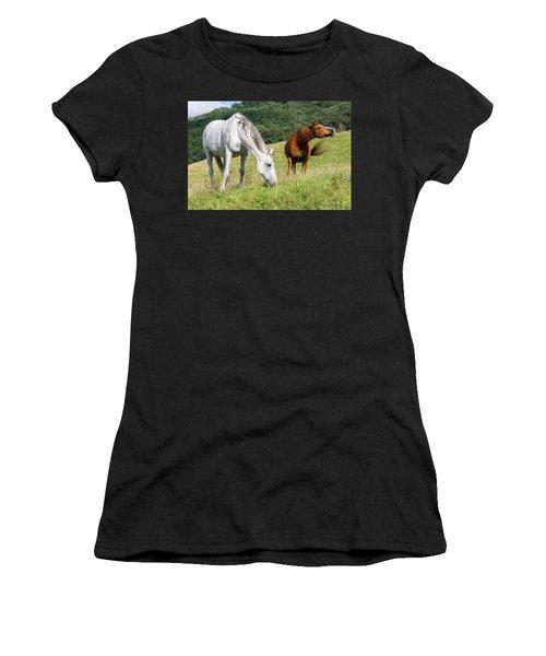 Summer Evening For Horses Women's T-Shirt
