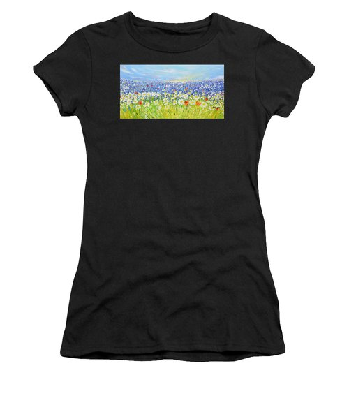Summer Field Women's T-Shirt (Athletic Fit)