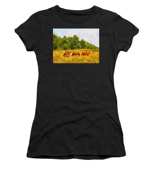 Summer Hay Burners Women's T-Shirt
