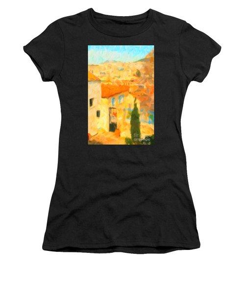 Summer In Athens Women's T-Shirt