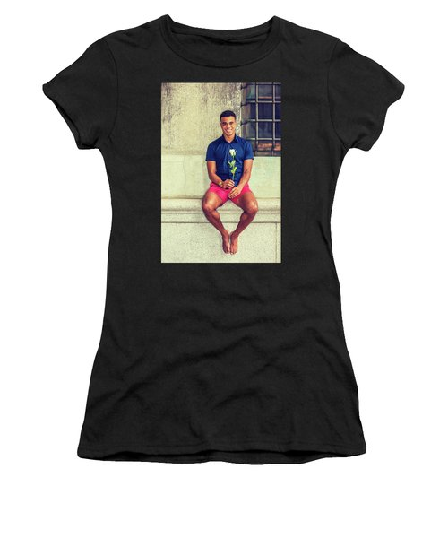 Summer In City Women's T-Shirt (Athletic Fit)