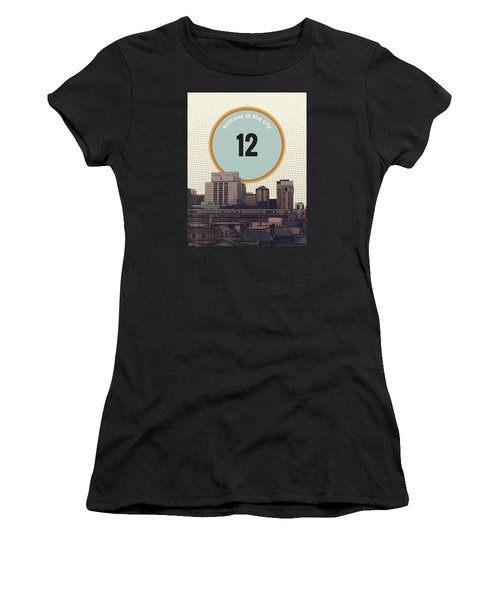 Women's T-Shirt (Junior Cut) featuring the photograph Summer In The City by Phil Perkins