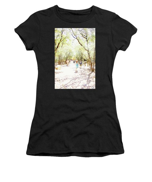 Women's T-Shirt (Athletic Fit) featuring the photograph Summer Light Provence by Rasma Bertz