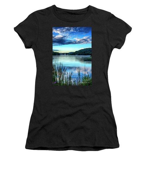 Summer Morning On The Lake Women's T-Shirt