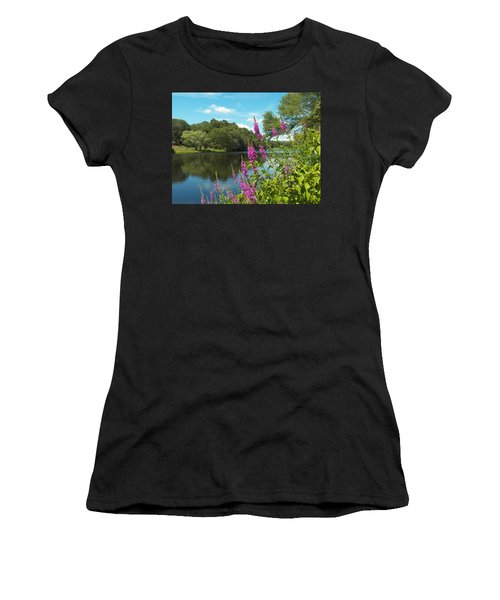 Summer On Kings Pond Women's T-Shirt (Athletic Fit)