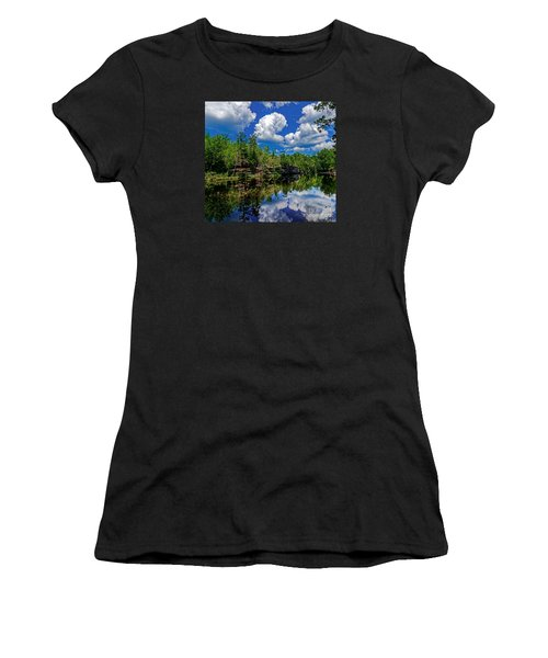 Summer Reflection Women's T-Shirt (Athletic Fit)