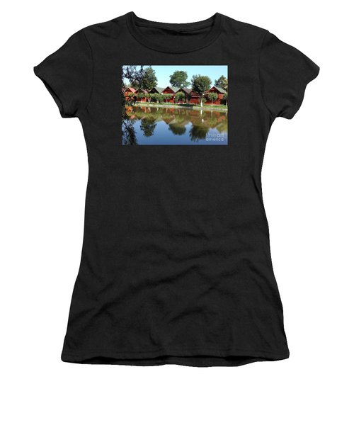Summer Reflections  Women's T-Shirt (Athletic Fit)