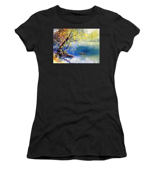 Summer River Women's T-Shirt (Athletic Fit)