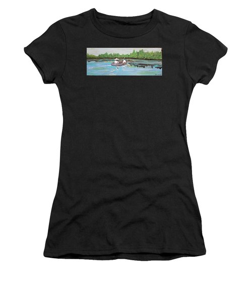 Summer Rowing Women's T-Shirt (Athletic Fit)