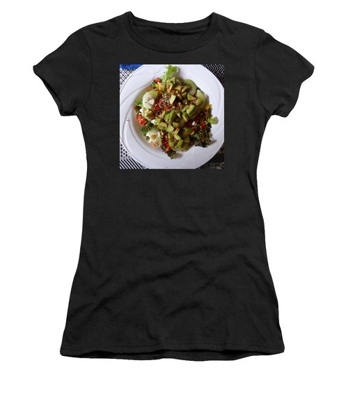 Women's T-Shirt (Athletic Fit) featuring the photograph Summer Salad by Joel Deutsch