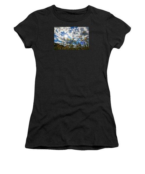 Summer Scene Women's T-Shirt (Junior Cut) by Nikki McInnes