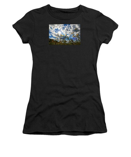 Summer Scene Women's T-Shirt (Athletic Fit)