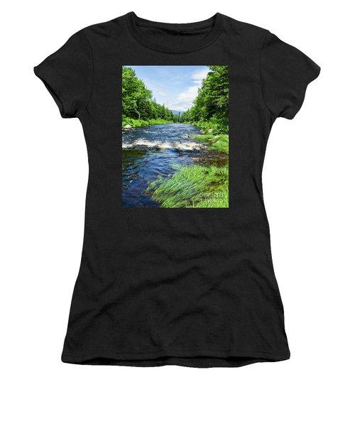 Summer Scene Rangeley Maine  -70742 Women's T-Shirt