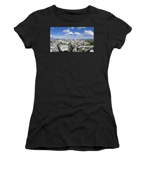Summer Skies Over London Women's T-Shirt (Athletic Fit)