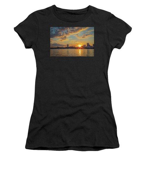 Summer Sunset Over Cambridge Women's T-Shirt