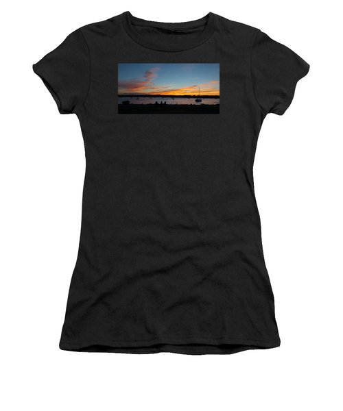 Summer Sunset With Friends Women's T-Shirt (Junior Cut) by Kenneth Cole