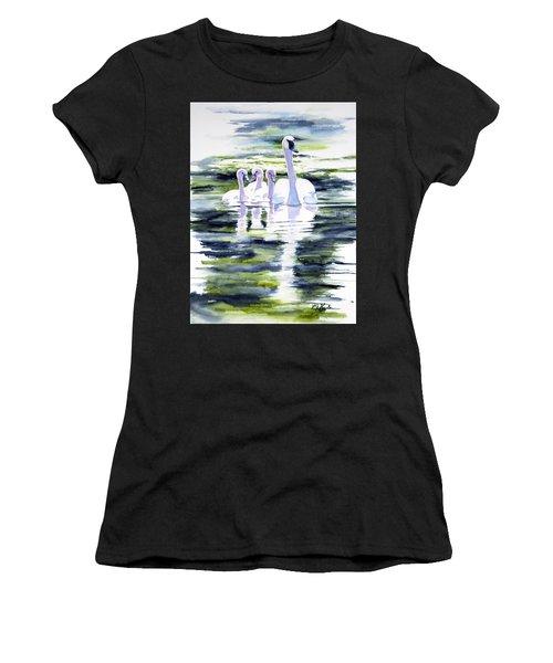 Summer Swans Women's T-Shirt