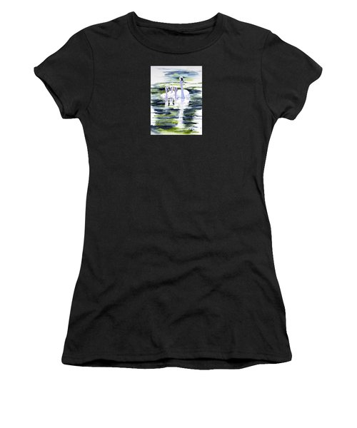Summer Swans Women's T-Shirt