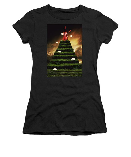 Summer Vibes  Women's T-Shirt (Athletic Fit)