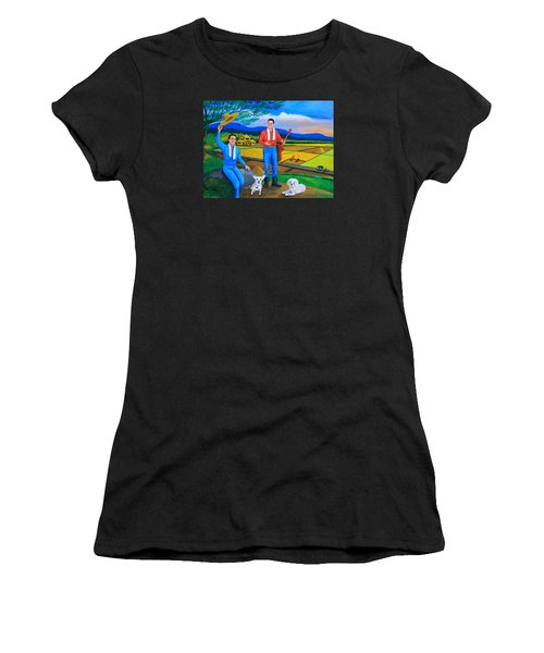 Summer View Women's T-Shirt (Athletic Fit)