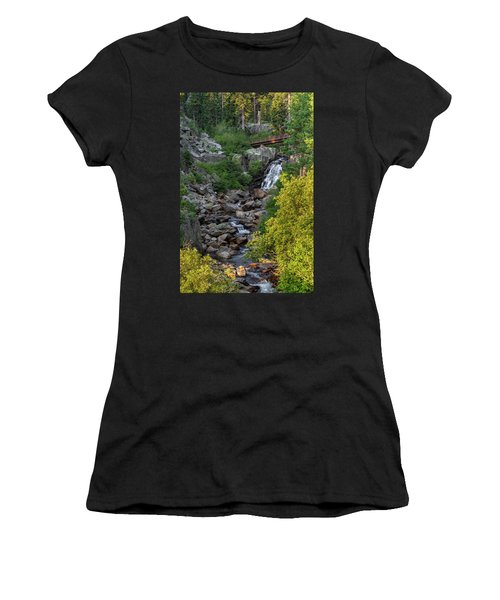 Summer Waterfall Women's T-Shirt