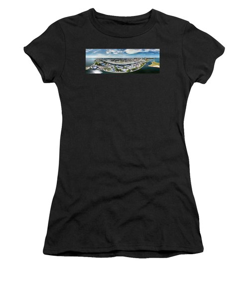 Summerfest Panorama Women's T-Shirt (Athletic Fit)
