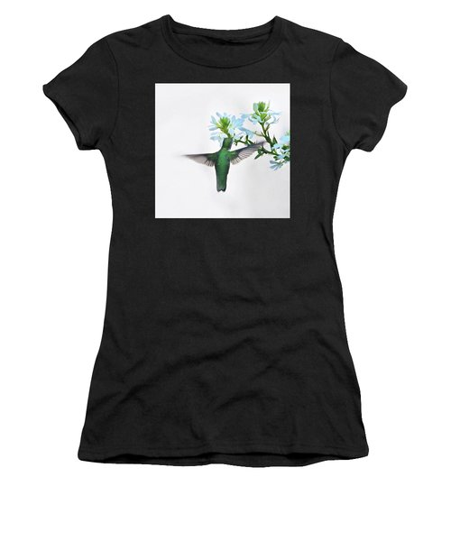 Women's T-Shirt (Athletic Fit) featuring the photograph Summer's Bounty by Sue Collura