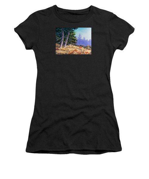 Summers End Women's T-Shirt (Athletic Fit)