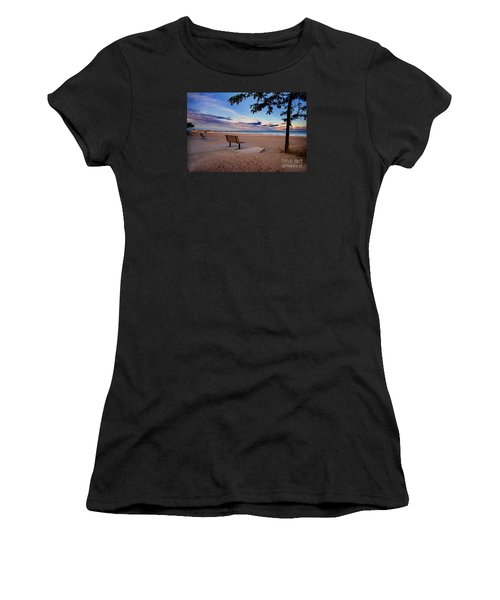 Summers Over Women's T-Shirt (Athletic Fit)