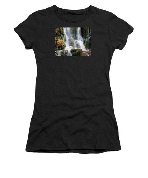 Summit Creek Waterfalls Women's T-Shirt