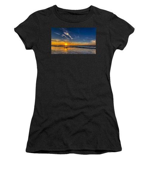 Sun And Surf Women's T-Shirt