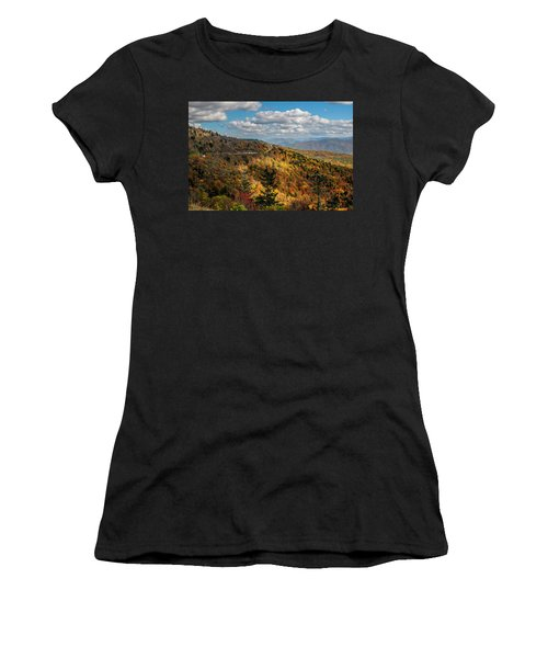 Sun Dappled Mountains Women's T-Shirt
