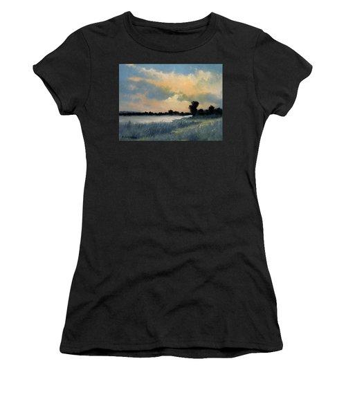 Sun Down Women's T-Shirt (Athletic Fit)