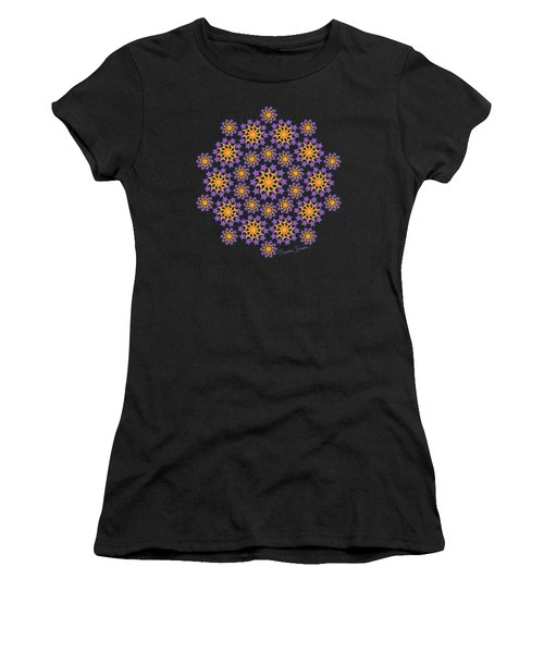 Sun Moon And Stars Women's T-Shirt