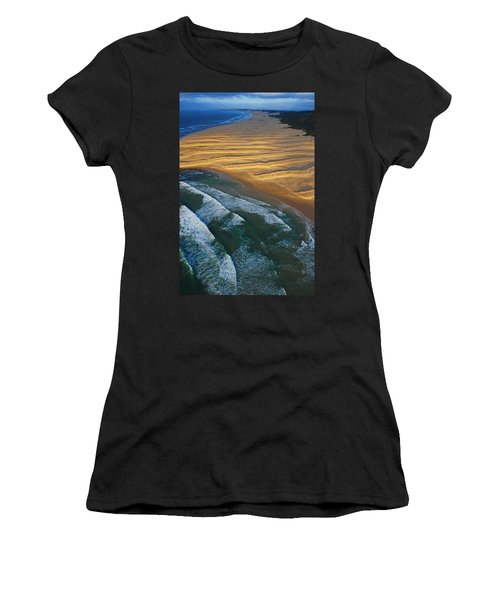 Sun Rise Coast  Women's T-Shirt (Athletic Fit)