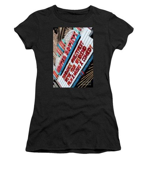 Sundance Next Fest Theatre Sign 2 Women's T-Shirt