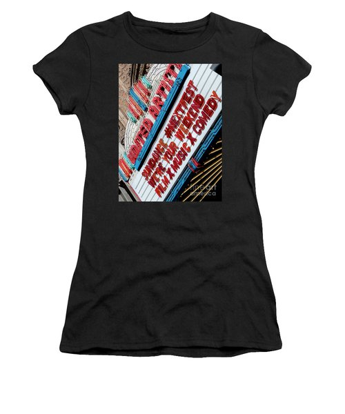 Sundance Next Fest Theatre Sign 2 Women's T-Shirt