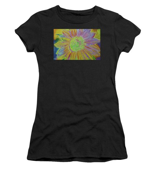 Women's T-Shirt featuring the painting Sundelicious by Cris Fulton