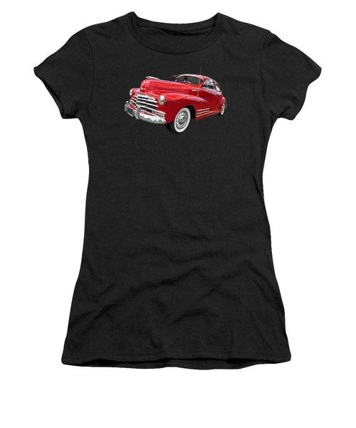 Sundown - 1948 Red Chevy Women's T-Shirt
